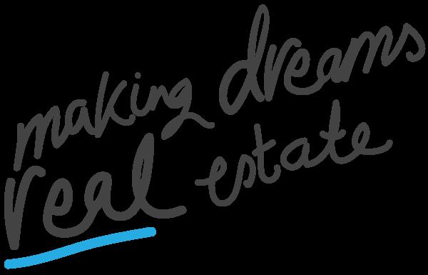 Making Dreams Real Estate - Blue